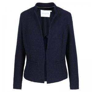 blazer, with lurex logo