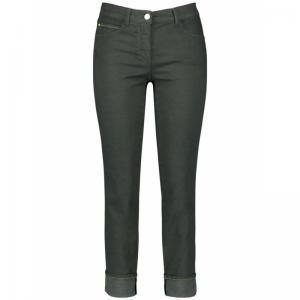 crop trousers jeans logo