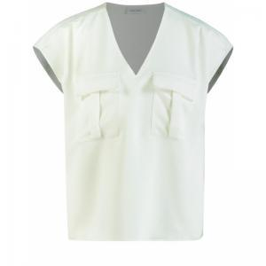 blouse without sleeve logo