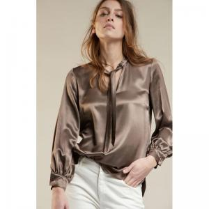 her. W20 blouse lm ronde hals  logo