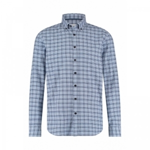 Shirt LS Y-D Checked - Flannel logo