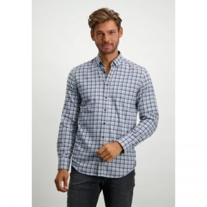 Shirt LS Y-D Checked Flannel - logo
